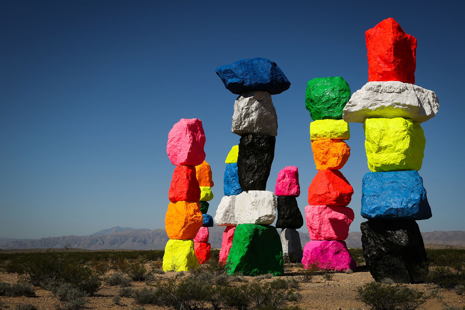 Seven Magic Mountains- Things to do in Las Vegas