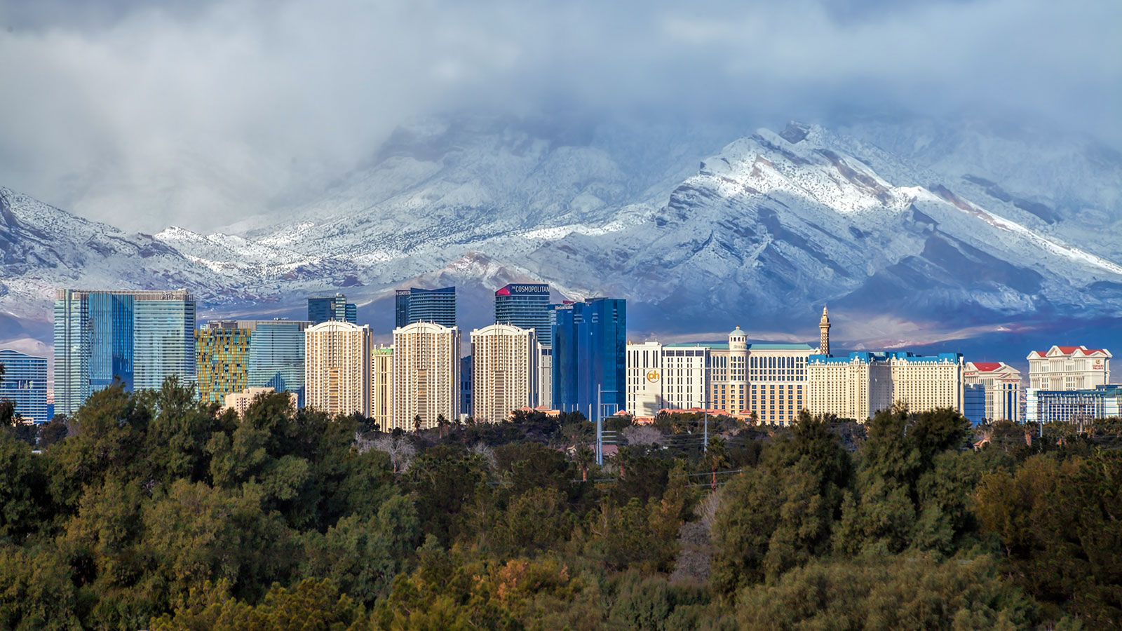 Visit Las Vegas in Winter - Photo by JR Manuel