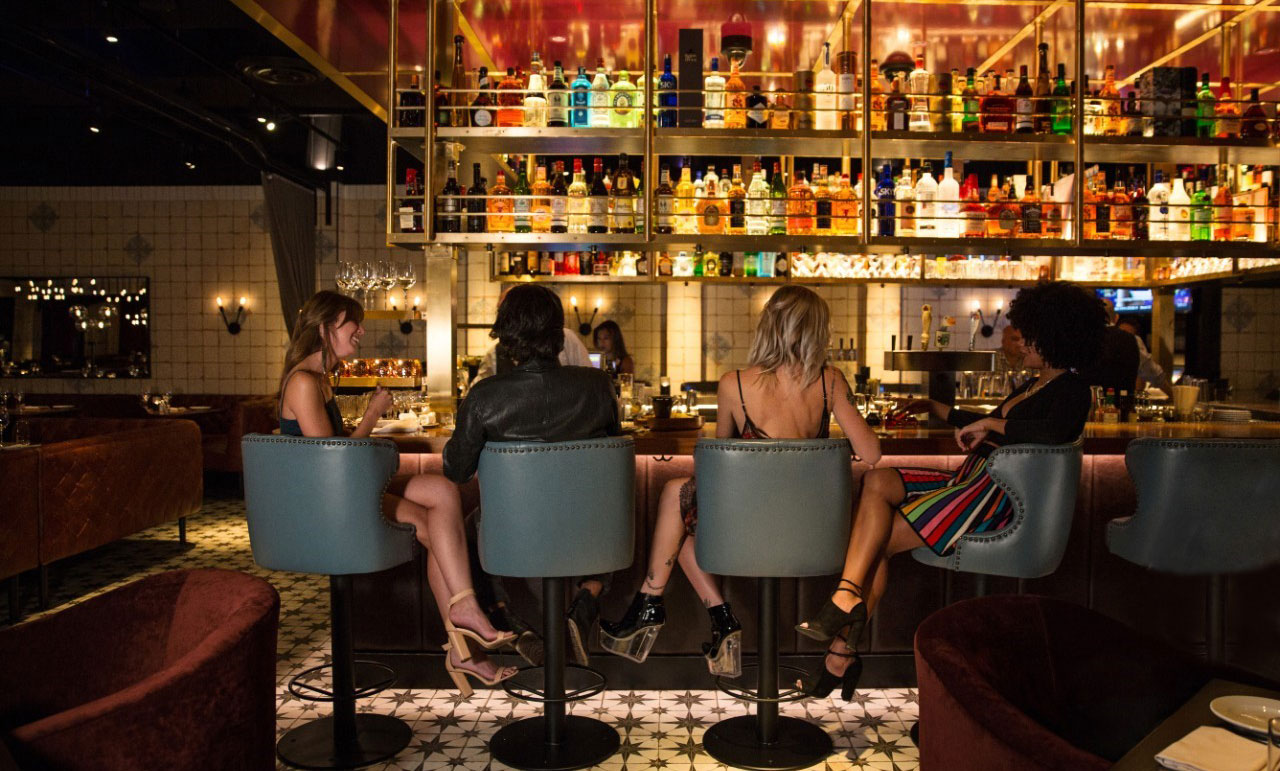 Spend time with your friends at Blue Ribbon in The Cosmopolitan of Las Vegas.