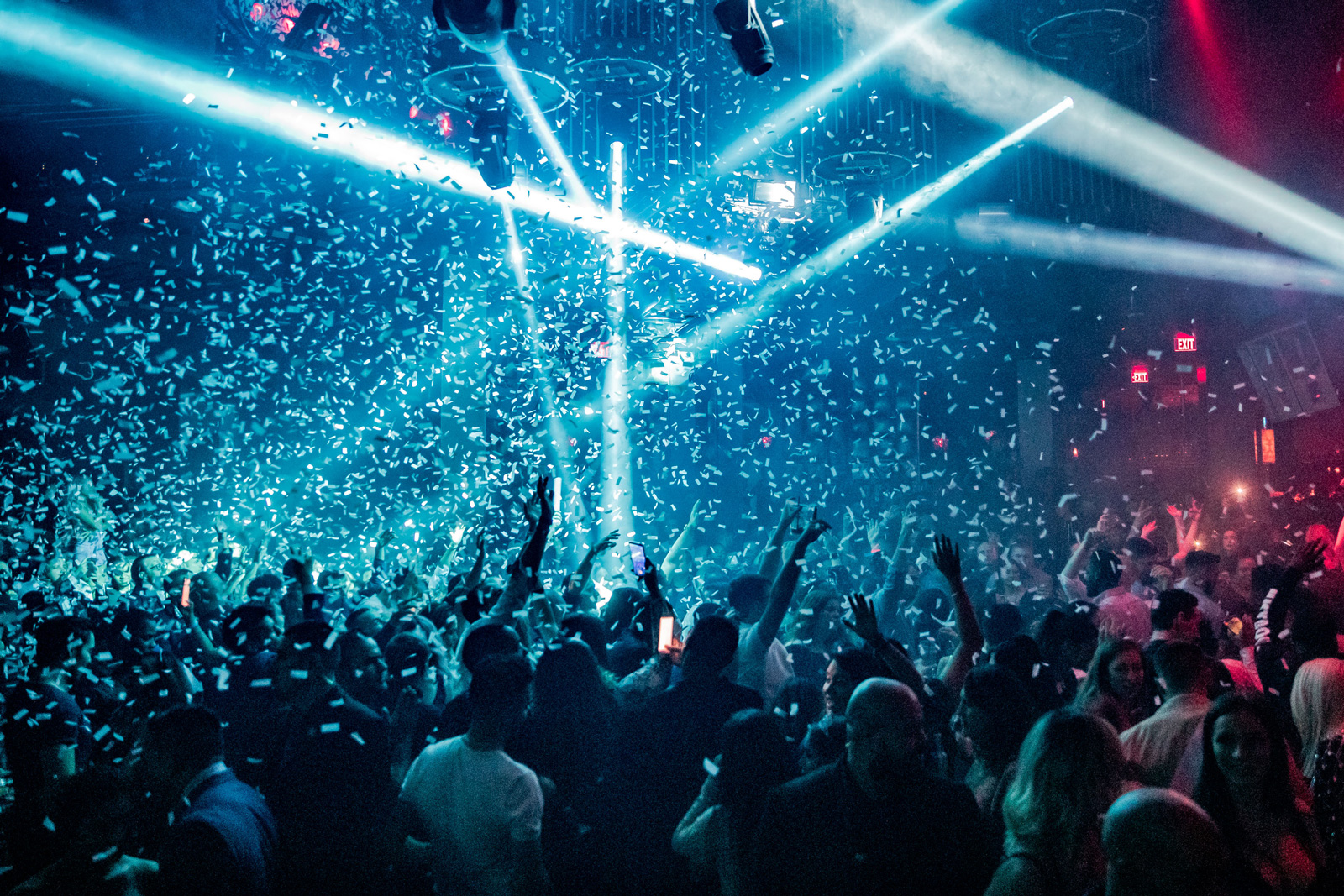 Celebrate New Year's Eve at Marquee Nightclub.